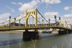 Pittsburgh bridge obraz stock