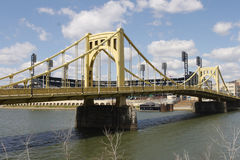 Pittsburgh Bridges Stock Image