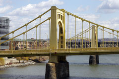 Pittsburgh Bridges. 9th & 10th street Bridge in Pittsburgh Stock Images