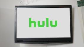 PITTSBURGH - Cerca do 20 de outubro de 2018 - série do logotipo do canal de televisão - Hulu ilustração do vetor