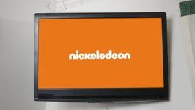 PITTSBURGH - Cerca do 20 de outubro de 2018 - série do logotipo do canal de televisão - Nickelodeon filme