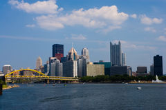Pittsburgh. The city of Pittsburgh Pennsylvania Royalty Free Stock Photos