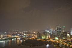 Pittsburgh. The city of Pittsburgh Pennsylvania Stock Image