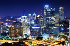 Pittsburgh Cityscape Royalty Free Stock Image
