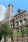 Pittsburgh courthouse. Pittsburgh, Pennsylvania - city in the United States. Famous Allegheny county courthouse Royalty Free Stock Images