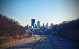 Pittsburgh del centro Fotografie Stock