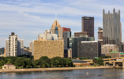 Pittsburgh Downtown Royalty Free Stock Image