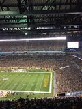 Pittsburgh football stadium. Pittsburgh football field NFL stadium sellout crowd packed fans Steelers Royalty Free Stock Images