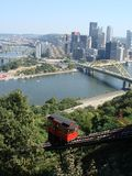 Pittsburgh Golden Triangle Stock Photography