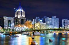 Pittsburgh horisont Royaltyfri Fotografi