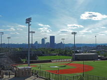 Pittsburgh linia horyzontu od Daleko Fotografia Stock