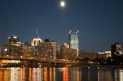 Pittsburgh los E.E.U.U. Imagen de archivo libre de regalías
