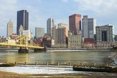 Pittsburgh norr kustsikt Arkivbild