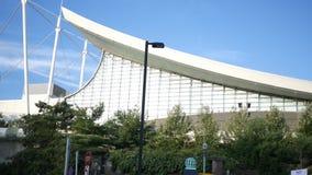 PITTSBURGH, PA - circa el 16 de septiembre de 2018 - el David L Lawrence Convention Center en Pittsburgh metrajes