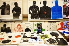 Le salon d'armes à feu 2013 de Showmaster Images libres de droits