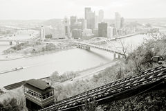 Pittsburgh panorama Stock Photos