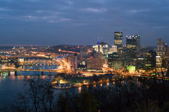 Pittsburgh panorama Stock Photo