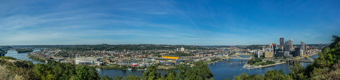 Pittsburgh Panoramic Stock Images
