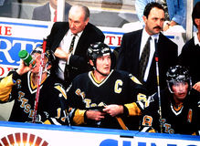 Pittsburgh Penguins bench Stock Photography