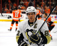 Pittsburgh Penguins Captain Sidney Crosby Royalty Free Stock Images
