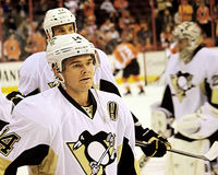 Pittsburgh Penguins Chris Kunitz Royaltyfria Bilder