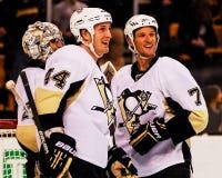 Pittsburgh Penguins di Orpik dei ruscelli Fotografie Stock