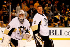 Pittsburgh Penguins goalies Stock Images