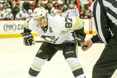 Pittsburgh Penguins Sidney Crosby Royaltyfri Foto