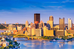 Pittsburgh Pennsylvania Cityscape Stock Images
