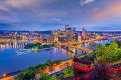 Pittsburgh, Pennsylvania, de V.S. royalty-vrije stock afbeelding