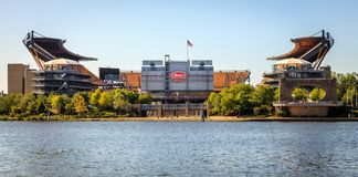 Heinz Field in Pittsburgh royalty free stock photography