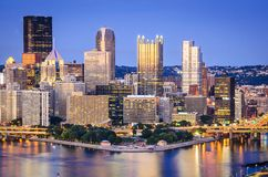Pittsburgh, Pennsylvania Skyline Stock Images
