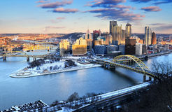 Pittsburgh Pennsylvania USA Arkivbilder