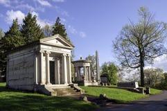 Pittsburgh Pennsylvania, USA 04/20/2019 mausoleer för den Hemphill och Baum familjen royaltyfri foto