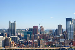 Pittsburgh Pennsylvania USA, skyline panorama Royalty Free Stock Photography