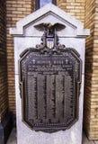 Pittsburgh, Pennsylvania, USA the World War 1 memorial in the Mt Washington stock photography