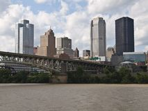 Pittsburgh Pennsylvania Waterfront Royalty Free Stock Photo