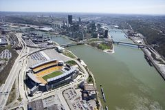 Pittsburgh, Pennsylvanie. images stock