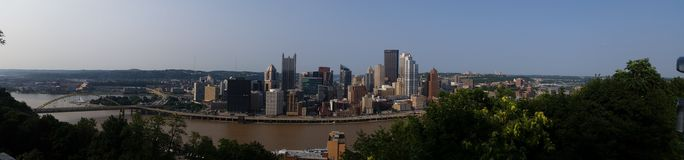 Pittsburgh Pennsylwania obrazy royalty free