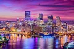 Pittsburgh, Pennsylwania, usa obrazy royalty free