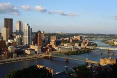 Pittsburgh, Pensilvânia Imagem de Stock Royalty Free