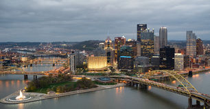 Pittsburgh, Pensilvania Fotografia Stock