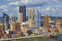 Pittsburgh, Pensilvania Fotografia Stock Libera da Diritti