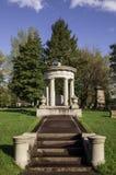 Pittsburgh, Pensilvania, 04/20/2019 Baum del sito grave della famiglia di U.S.A. nel cimitero di Homewood immagini stock libere da diritti