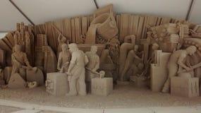 Pittsburgh piaska rzeźba Zdjęcia Stock