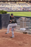 Pittsburgh-Piraten-Entlastungs-Pitcher Lizenzfreies Stockfoto