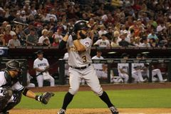 Pittsburgh Pirates. At Chase Field in Phoenix AZ 4-23-16 Stock Image