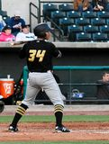 Pittsburgh Pirates Prospect Calvin Mitchell. #34 Royalty Free Stock Photography