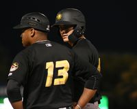 Pittsburgh Pirates Prospect Dylan Busby.  Royalty Free Stock Photo