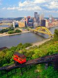 Pittsburgh Pochylnia Obraz Royalty Free